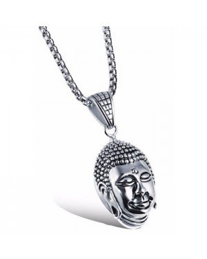 Mendes Buddha Kettinghanger Zilver