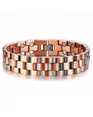 Mendes heren armband Koper Magneten Energie