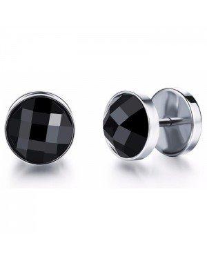 Mendes Jewelry Stud oorbellen Zircon Silver