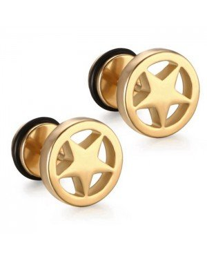 Mendes Star Stud oorbellen Gold