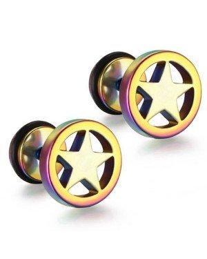 Mendes Star Stud oorbellen Multicolor