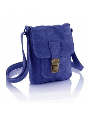 Mini Messenger Bag Blue