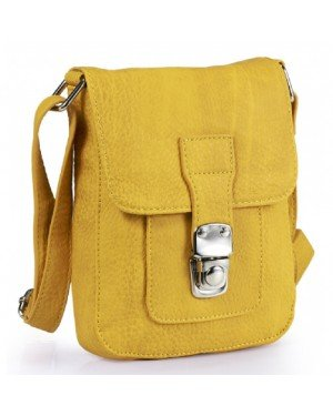 Mini Messenger Bag Yellow
