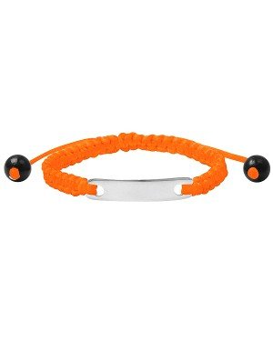 Kinderarmband ID Orange
