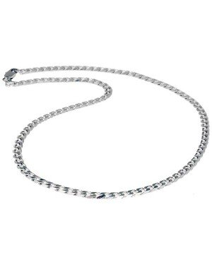 LGT Jewels heren ketting Edelstaal Demis