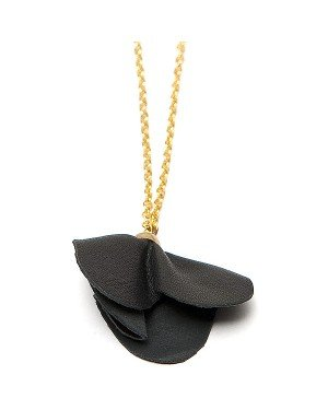 Sugarz dames ketting Black Flower
