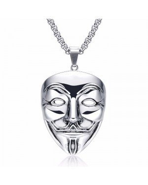 V for Vendetta kettinghanger Silver