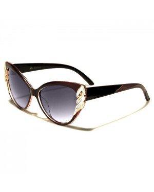 VG Eyewear Cat Eye zonnebril Bruin Goud VG1825