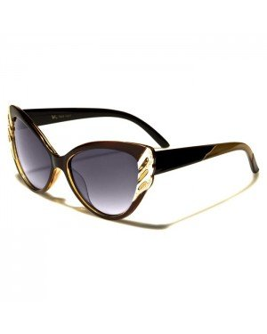 VG Eyewear Cat Eye zonnebril Leopard Goud VG1825