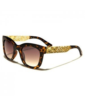 VG Eyewear dames zonnebril Flower Brown Gold vg29002