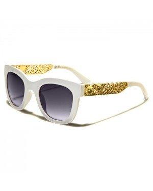 VG Eyewear dames zonnebril Flower White Gold vg29002
