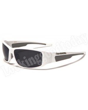 Biohazard heren zonnebril White
