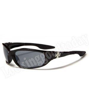 Choppers kinder zonnebril Biker Zwart