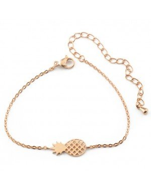 Cilla Jewels armband Pineapple Rosegoud