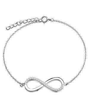Cilla Jewels armband Silver Infinity