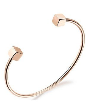 Cilla Jewels Dames Armband Kubus Cuff Rose