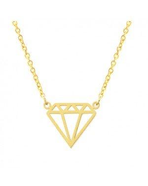 Cilla Jewels dames ketting Diamond geelgoud Verguld