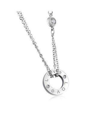 Cilla Jewels ketting Zilver Love Pendant