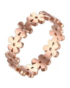 Cilla Jewels ring Verguld edelstaal Flower Rose