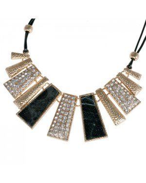 Fashion choker Goudkleurig