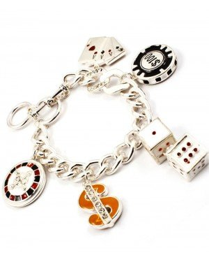 Fashion dames armband Pokerface