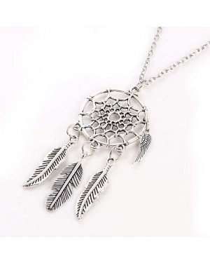 Fashion ketting Dreamcatcher Autumn Leaf