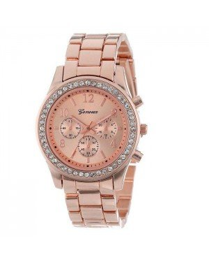Geneva dames horloge Crystal Rose