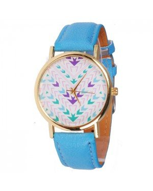 Geneva Fashion horloge Aztec Blue