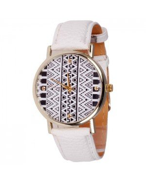Geneva Fashion horloge Aztec Gold White