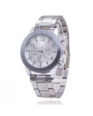 Geneva Fashion horloge Chrono Silver
