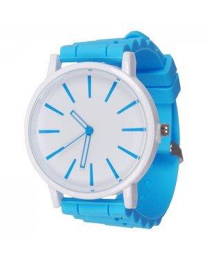 Geneva Mode horloge Silicon Beach Light Blue