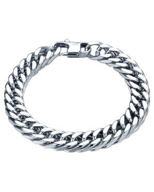 Heren armband Edelstaal Link chain 8mm