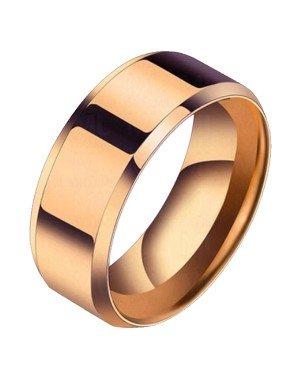 Heren ring Titanium Rose 8mm