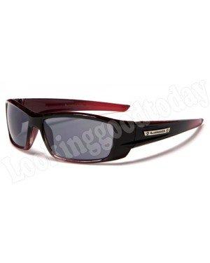 Kinder zonnebril Biohazard Rood