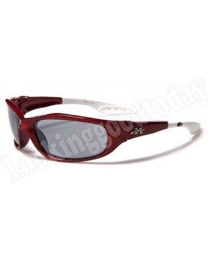 Kinder zonnebril Xloop Rood