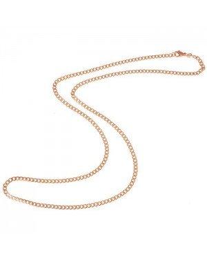 LGT Jewels Cubaanse koord ketting Rose 3mm