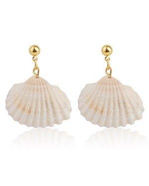 LGT Jewels Damesoorbellen met Open Schelp