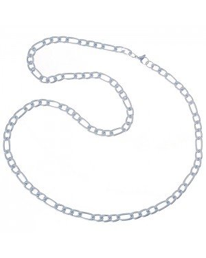 LGT Jewels Figaro Edelstaal ketting 6mm