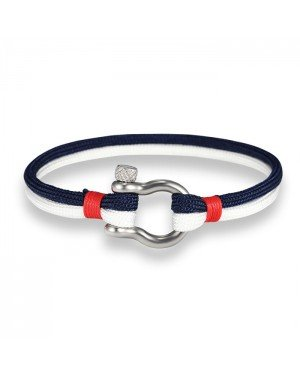 LGT Jewels Marine armband Navy Blue White