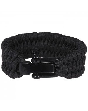 LGT Jewels Paracord armband Black