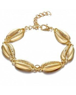 LGT JWLS Dames Armband Gouden Schelpen Goud