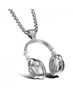 Mendes kettinghanger Headphone Silver