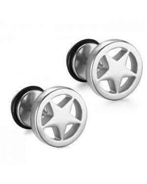 Mendes Star Stud oorbellen Silver