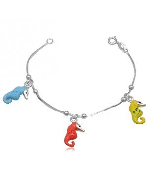 Kinder armband Sea Horse