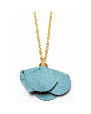 Sugarz dames ketting Turquoise Flower