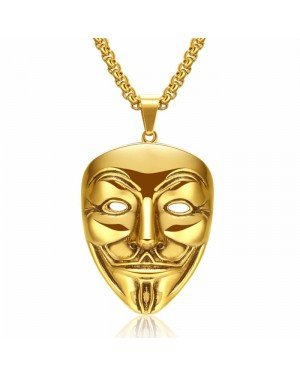 V for Vendetta kettinghanger Gold