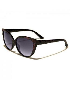 VG Eyewear dames zonnebril Zwart Paars VG29016