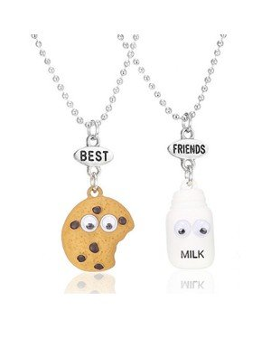 Vriendschapsketting Best Friends Milk Cookies