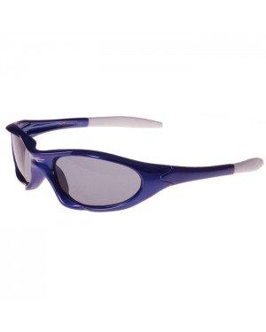 Xloop kinder zonnebril blauw wit