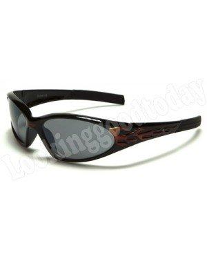 Xloop kinder zonnebril Flames Rood